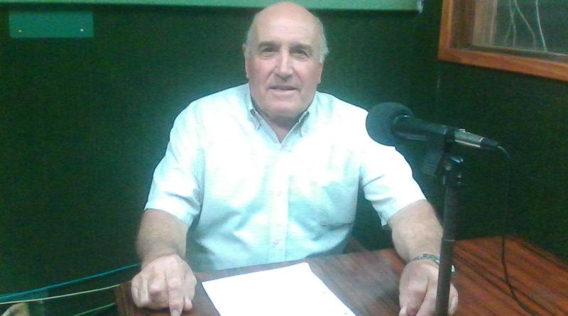 Miguel Cordone se refirio al centro de jubilados y pensionados.