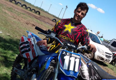 Juan Gioia participó de la tercera fecha del Campeonato de Speedway en el óvalo Giordano