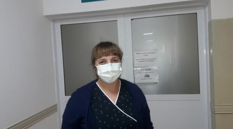 Dia de la enfermera, conceptos de Florencia Membriani