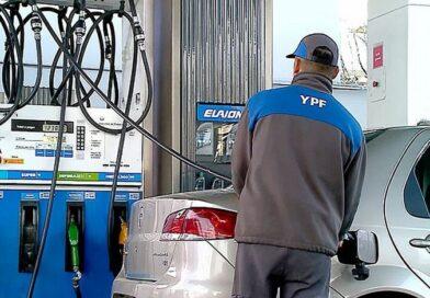YPF aumentó los combustibles un 6% desde hoy sábado