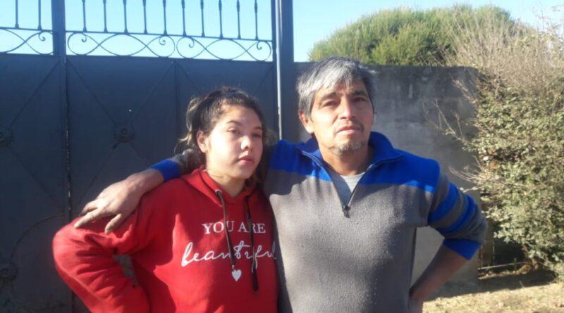 Fabian Morales propietario del domicilio incendiado
