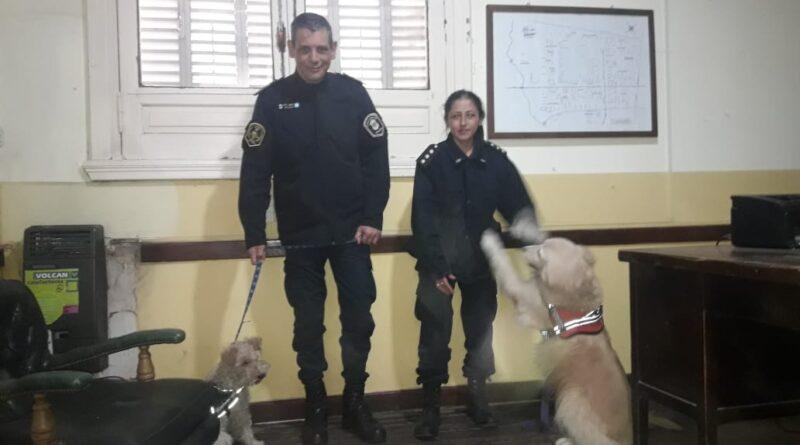 El comisario Jose Luis Gimeno habló de la importancia que seria en nuestro Rojas tener perros adiestrados.
