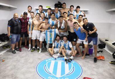 Esteban Calabia convirtió el tercero en la victoria de Argentino frente a El Huracán