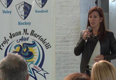 La Insp. Natalia Gordillo hizo un balance de la jornada de Educación física