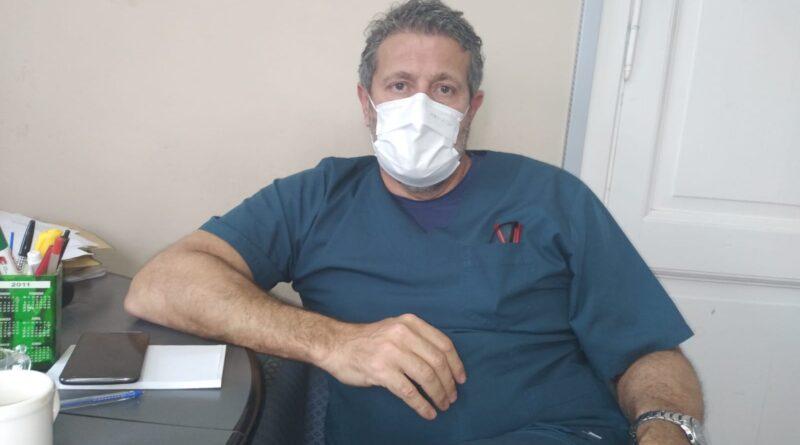 El director del hospital Cesar Pastorino agradeció a la comunidad