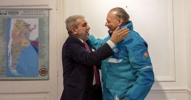 Aníbal Fernández recibió a Berni, que celebró la coordinación con Nación
